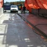 Nieuwe betonvloer
